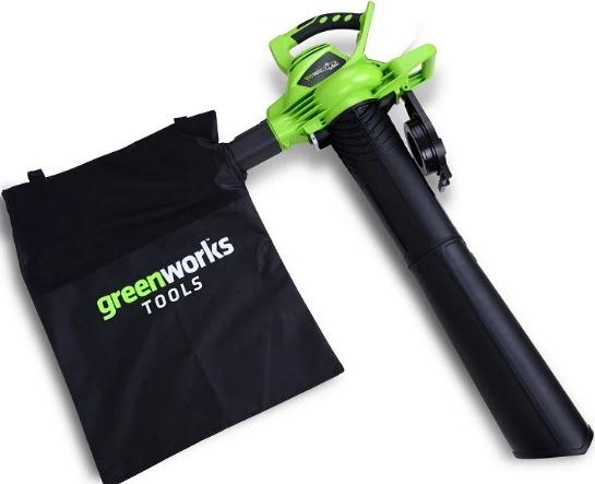 Купить Воздуходув-пылесос аккумуляторный Greenworks GD40BV (без аккумулятора и зарядного устройства) — Фото №1