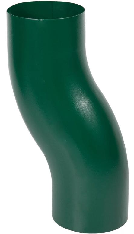 Купить S-обвод Aquasystem RAL6005 (зеленый), диаметр 125/90 мм — Фото №1
