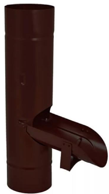 Купить Водосборник Aquasystem RAL 8017 (коричневый), диаметр 150/100 мм