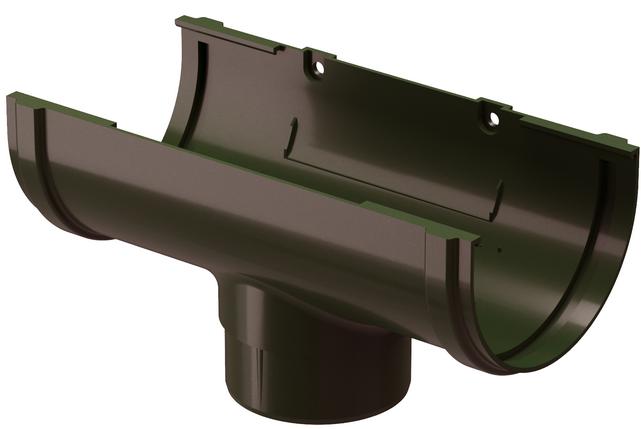 Купить Воронка желоба Docke Standard (темно-коричневая), диаметр 120/80 мм — Фото №1