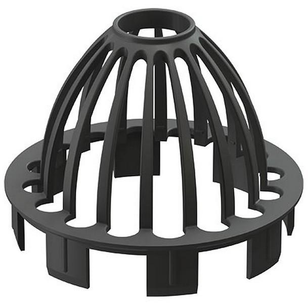 Купить Сетка воронки ПВХ Docke Premium (графит), диаметр 120/85 мм — Фото №1
