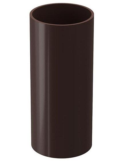 Купить Труба водосточная ПВХ Docke Standard (темно-коричневая) 120/80 мм, длина 2 м — Фото №1