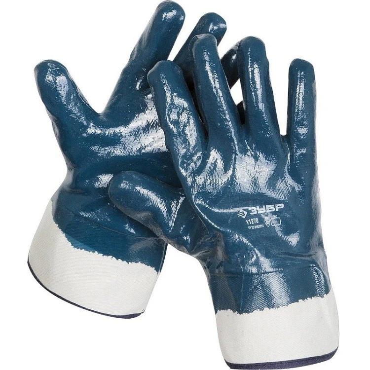 Купить Перчатки с нитриловым покрытием Зубр Мастер 11270, XL — Фото №1