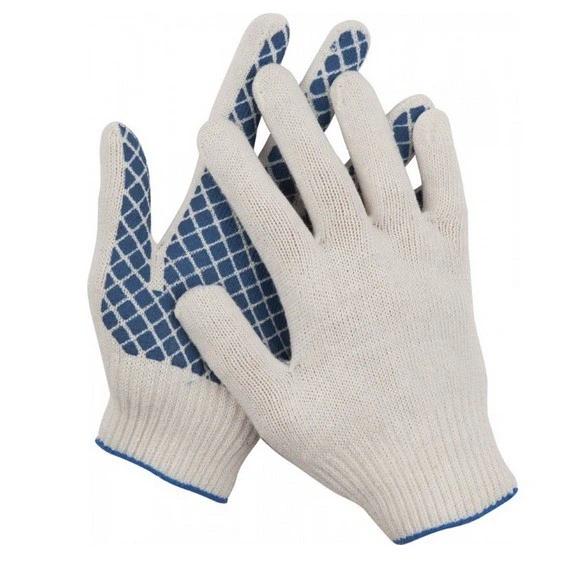Купить Перчатки трикотажные противоскользящие Dexx 114001 — Фото №1