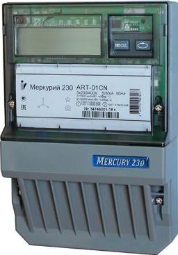 Счетчик электроэнергии трехфазный многотарифный Инкотекс Меркурий 230 АRT-01 СLN
