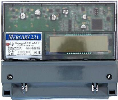 Счетчик электроэнергии однофазный многотарифный Инкотекс Меркурий 231 АТ-01I
