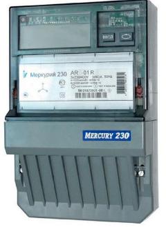 Счетчик электроэнергии трехфазный однотарифный Инкотекс Меркурий 230 AR-03 R