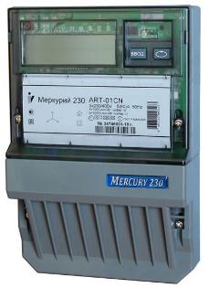 Счетчик электроэнергии трехфазный многотарифный Инкотекс Меркурий 230 АRT-00 PQRSIDN