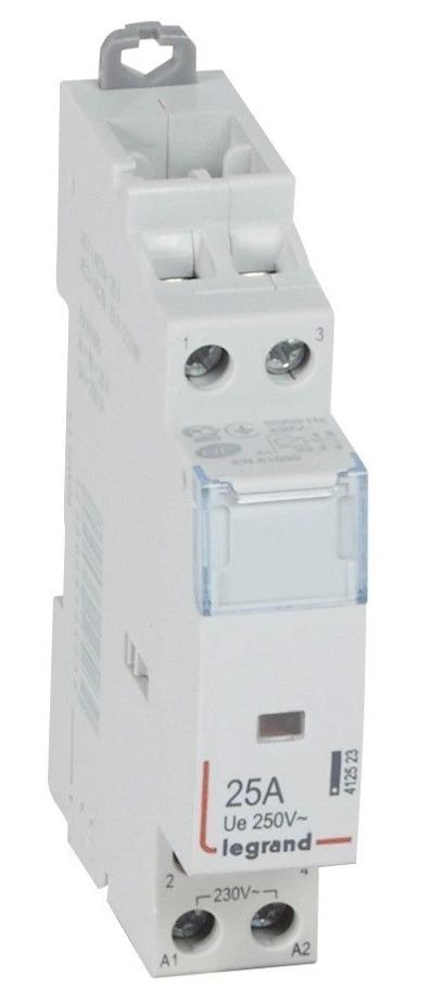 Купить Контактор Legrand 412523 2P 2НО, номинальный ток 25А