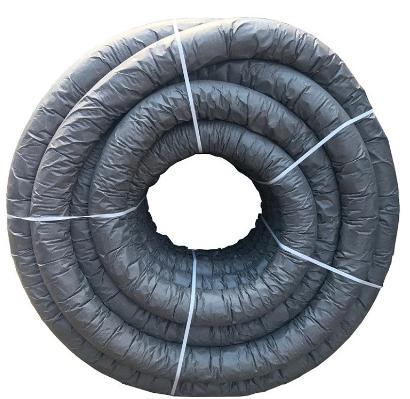 Купить Труба дренажная одностенная перфорированная с геотканью М-100 Nashorn N ПНД, 160 мм — Фото №1