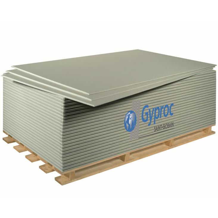 Купить Гипсокартон ГКЛ Gyproc Оптима Лонг, 3000х1200х12.5 мм — Фото №1