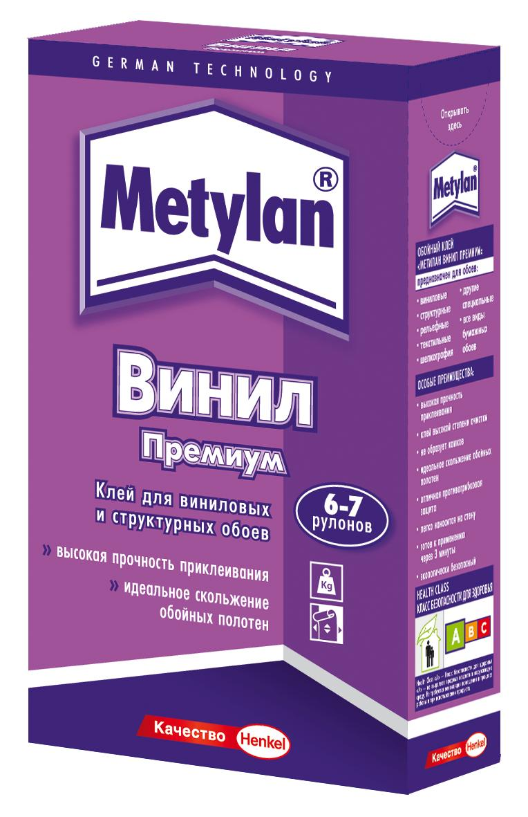Metylan Винил Премиум 500 г, Обойный клей без индикатора для виниловых обоев,