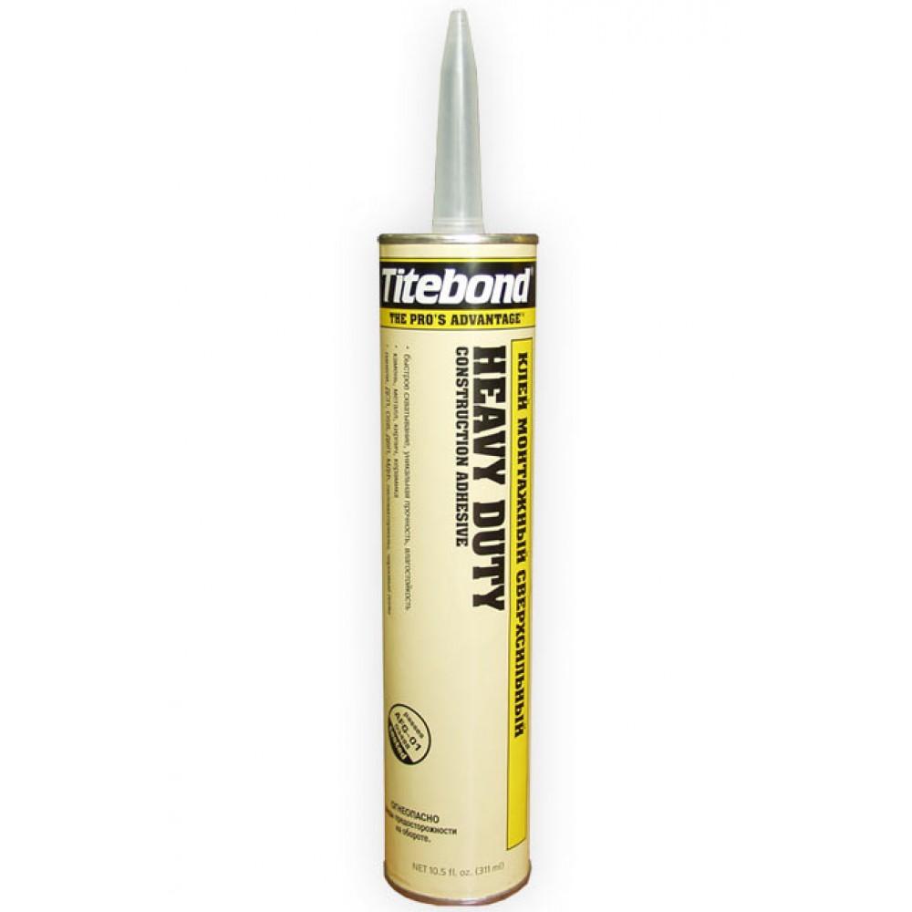 Купить Жидкие гвозди Titebond Heavy Duty, 310 мл — Фото №1
