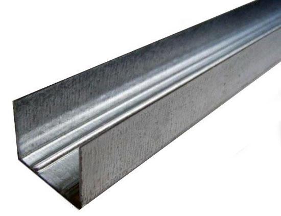 Купить Профиль направляющий потолочный ПН 28х27х0.4 мм Эконом, 3 м — Фото №1