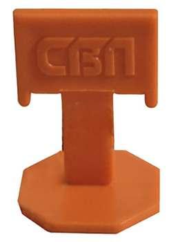 Купить Система выравнивания плитки СВП, Зажим 5-12 мм (100 штук) — Фото №1