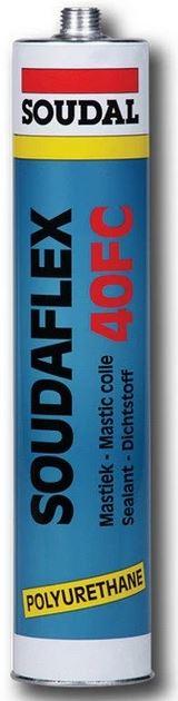 Купить Герметик полиуретановый Soudal Soudaflex 40 FC (серый), 310 мл — Фото №1