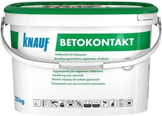 Купить Грунтовка для бетона акриловая Knauf Betokontakt, 20 кг — Фото №1