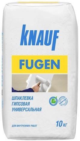 Купить Шпатлевка гипсовая универсальная Knauf Фуген (серая), 10 кг — Фото №1