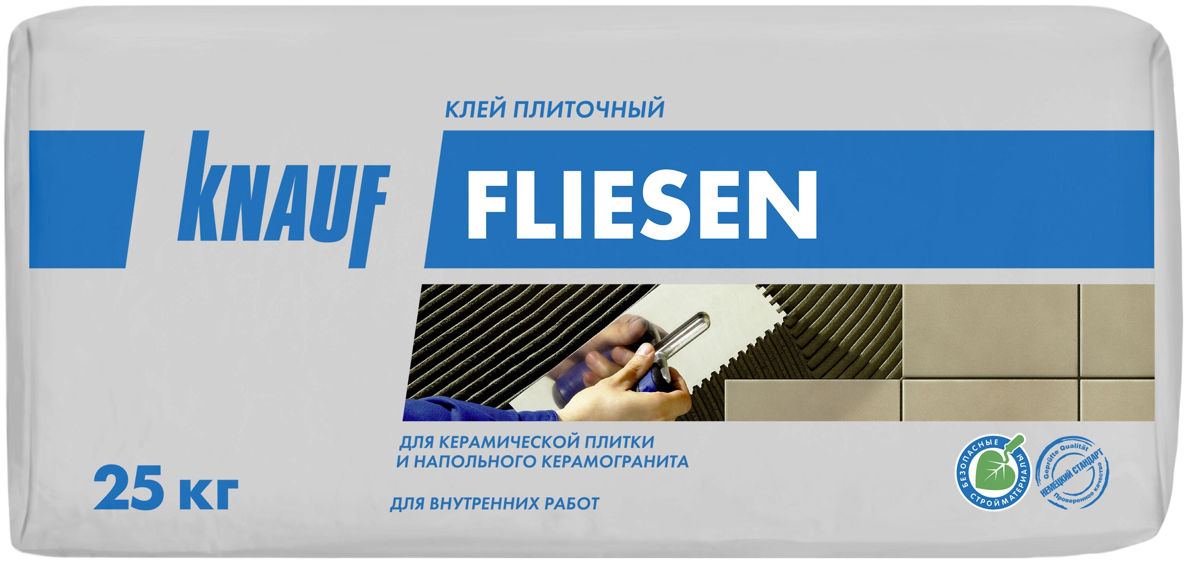 Купить Клей для плитки Knauf Флизен, 25 кг — Фото №1