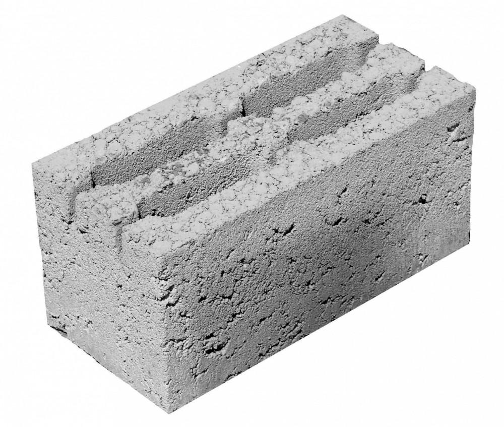 серые блоки для строительства