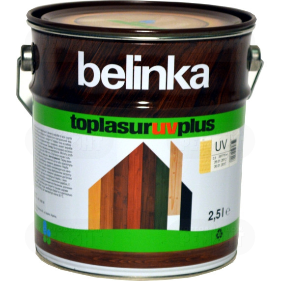 Belinka Toplasur UV Plus, 2.5 л, Пропитка деревозащитная