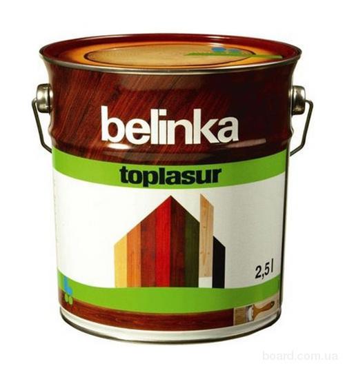 Belinka Toplasur №72, 2.5 л, Пропитка деревозащитная