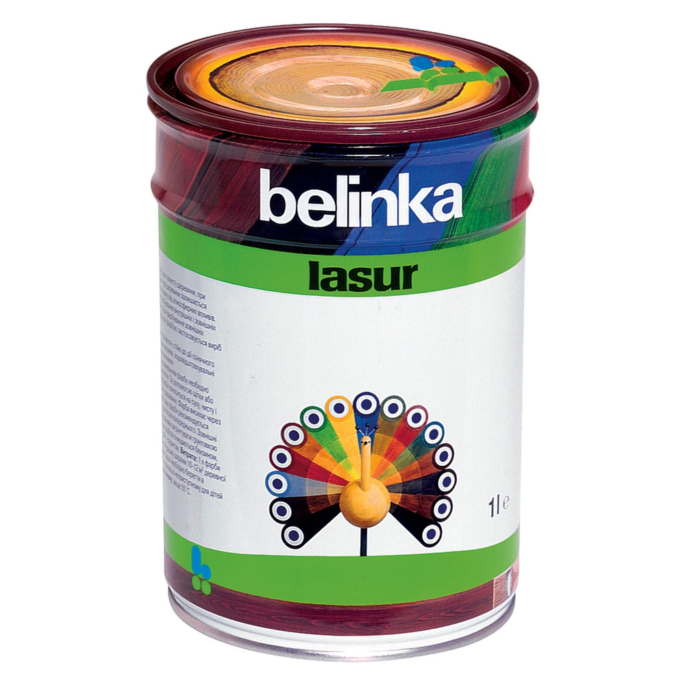 Belinka Lasur №16, 1 л, Пропитка деревозащитная