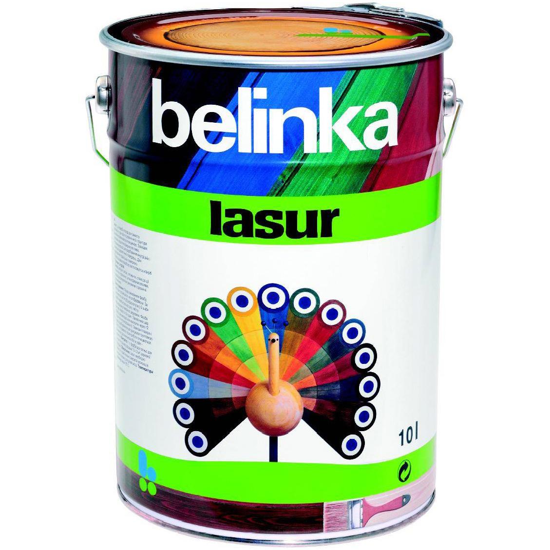 Belinka Lasur №11, 10 л, Пропитка деревозащитная