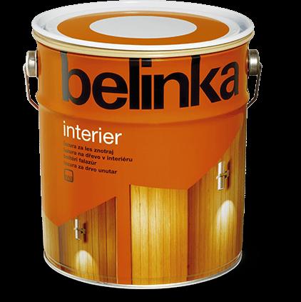 Пропитка деревозащитная Belinka Interier №61 (натуральный прозрачный), 10 л
