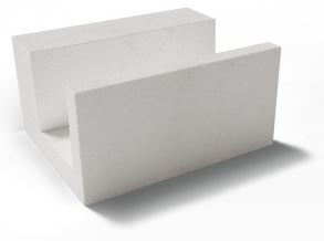 Купить Газобетонный U-блок Грас, размер 625х500х250 мм — Фото №1