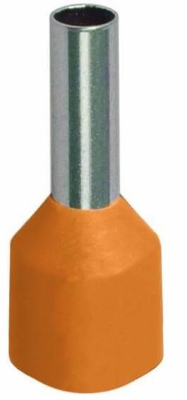 Наконечник штыревой НШвИ IEK (оранжевый), сечение 0.5 мм2 (100 шт)