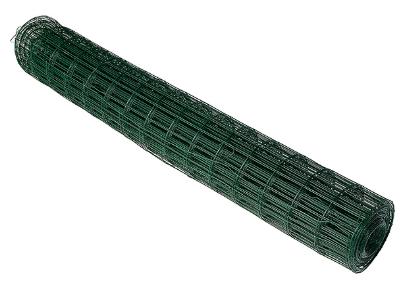 Купить Сетка сварная с ПВХ покрытием 100х50х2.2 мм (зеленая), рулон 1.5х15 м — Фото №1