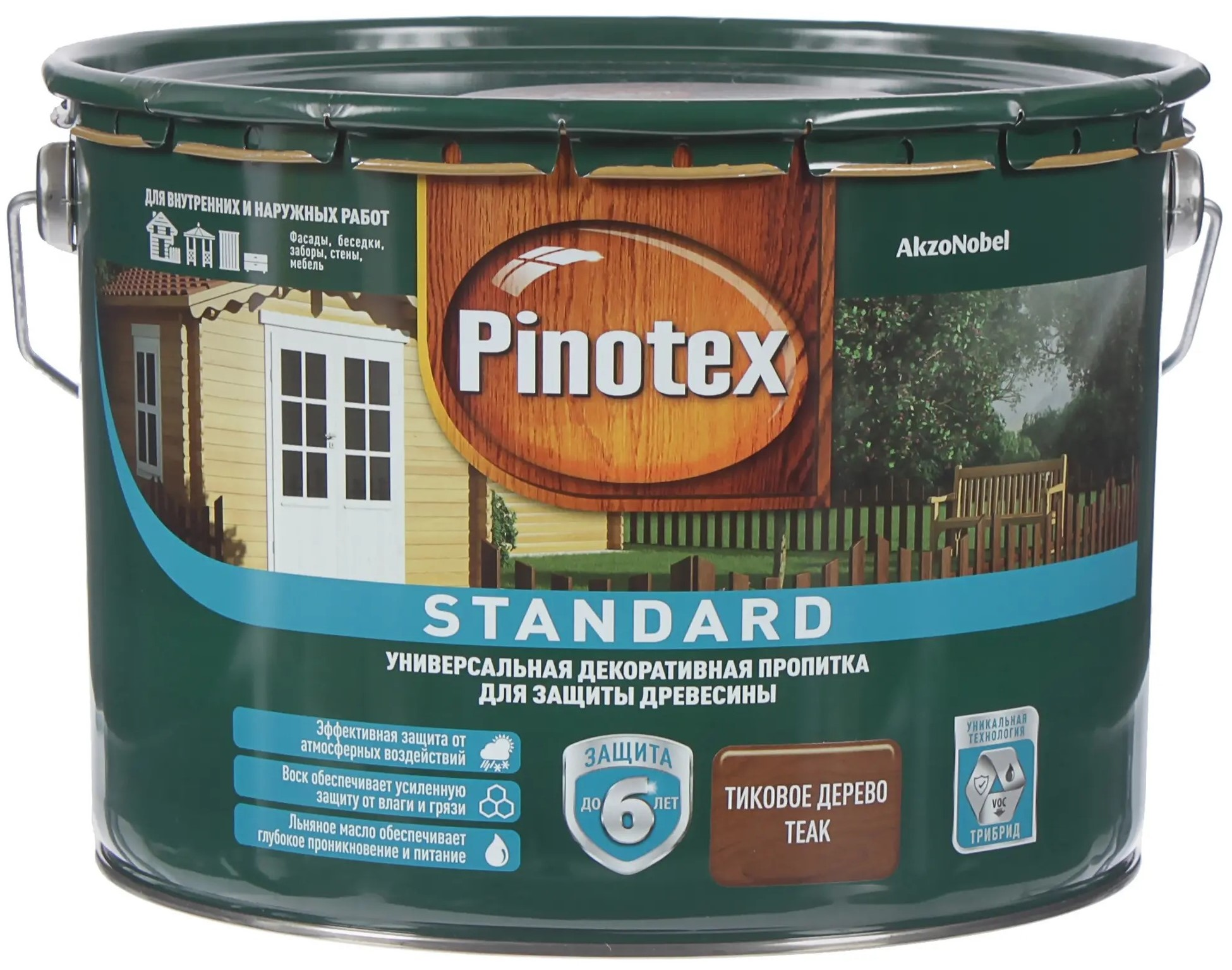 Pinotex Standard, 9 л, Антисептик
