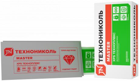 Купить Экструдированный пенополистирол ТехноНиколь Техноплекс, 1180х580х50 мм (6 плит/4.11 м2) — Фото №1