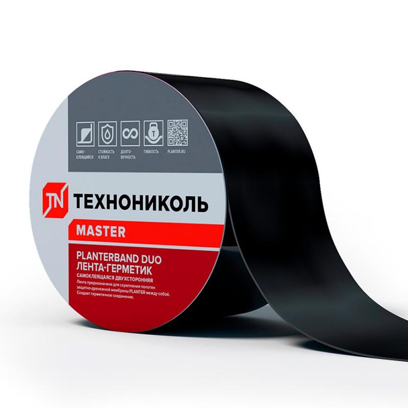 Лента герметизирующая самоклеящаяся Технониколь Planterband Duo, 0.05х10 м
