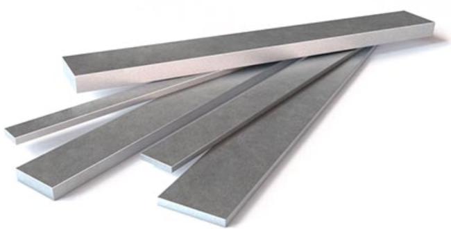 Купить Полоса стальная горячекатаная 40 мм, толщина 4 мм — Фото №1
