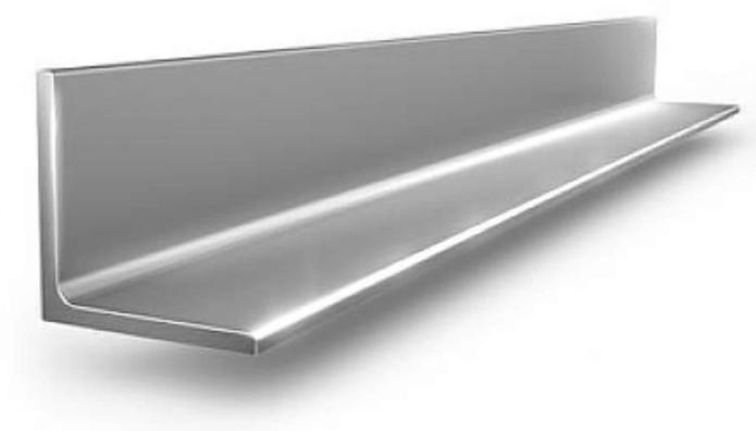 Купить Уголок стальной горячекатаный 50х50 мм, толщина 4 мм — Фото №1