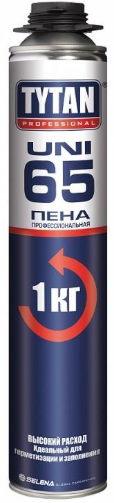 Купить Пена монтажная профессиональная Tytan Professional 65 UNI, 750 мл — Фото №1