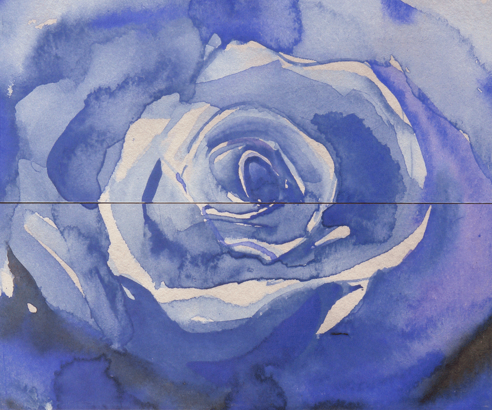 Gracia Ceramica Arabeski Blue Panno 02 панно (синее), 60х50 см