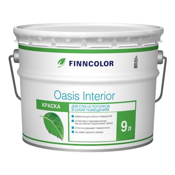 Купить Краска интерьерная Finncolor Oasis Interior, 9 л — Фото №1
