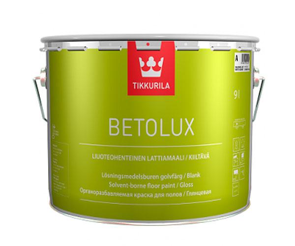 Купить Краска интерьерная Tikkurila Betolux (белая), 9 л — Фото №1