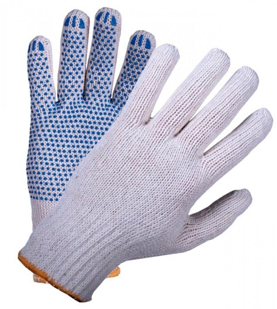 Купить Перчатки ХБ с ПВХ покрытием (4 нити) — Фото №1