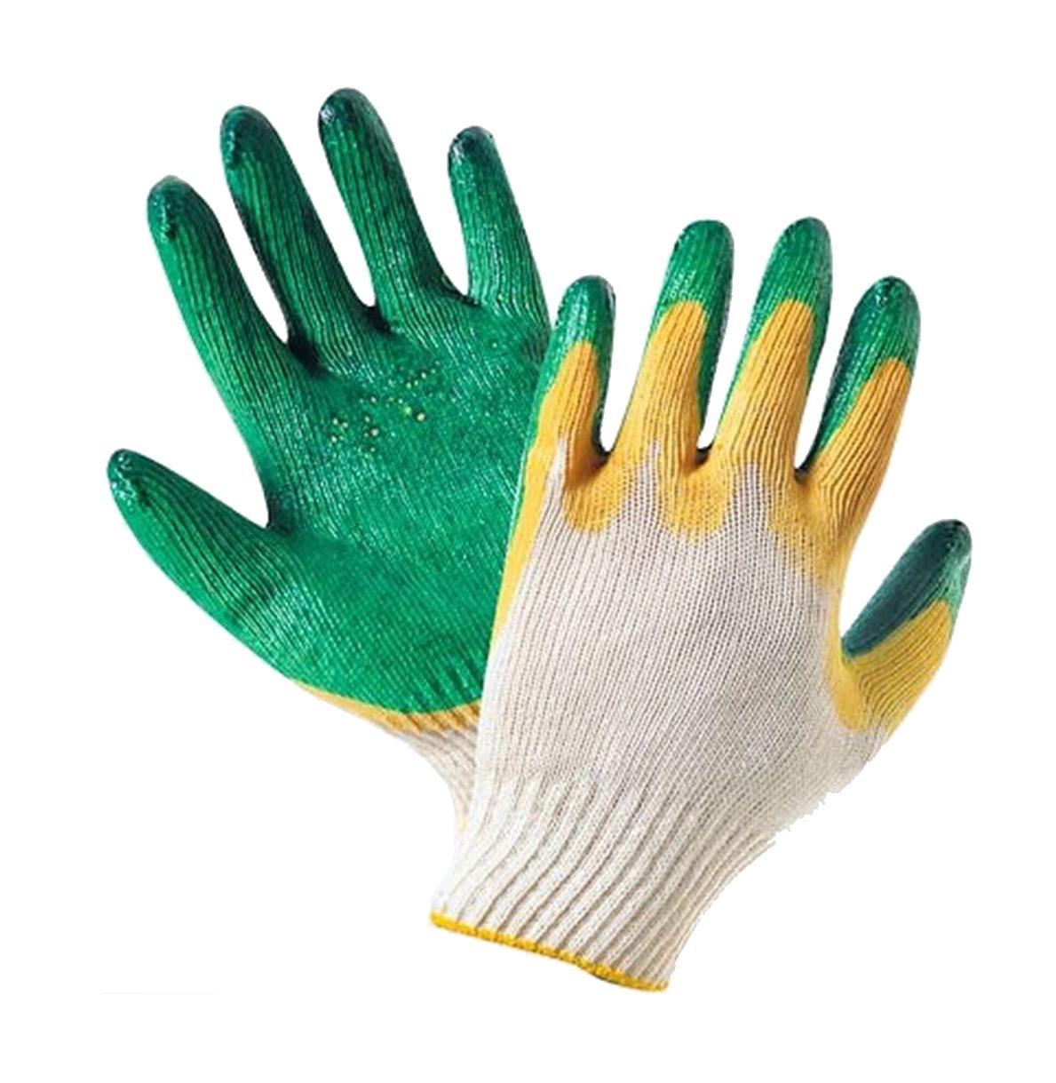 Купить Перчатки ХБ с двойным обливом — Фото №1