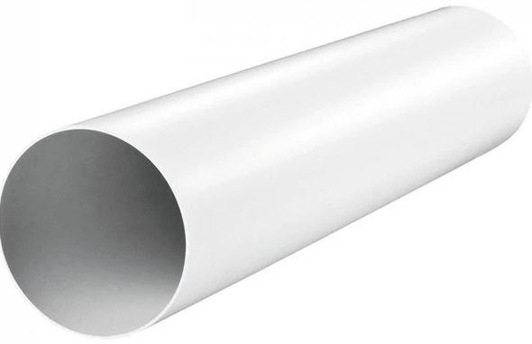 Купить Канал круглый пластиковый Era 12,5ВП1, диаметр 125 мм (1 м) — Фото №1