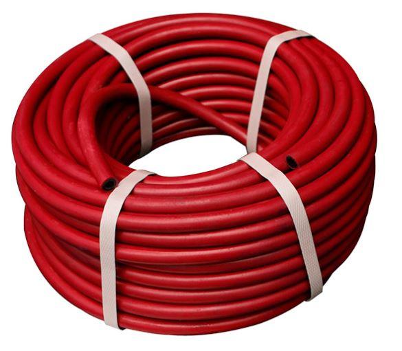 Купить Шланг газовый красный, диаметр 9 мм (10 м) — Фото №1