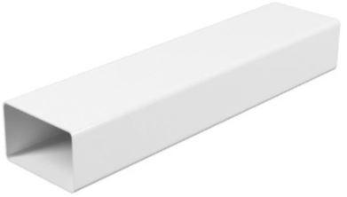 Купить Короб вентиляционный пластиковый, размер 55х110 мм (1 м) — Фото №1