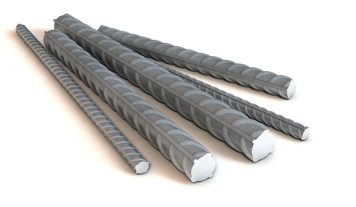 Купить Арматура стальная рифленая А3, диаметр 14 мм — Фото №1