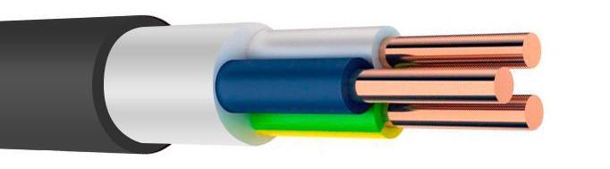 Купить Кабель ВВГнг-LS силовой медный Конкорд (ГОСТ), 3х2.5 мм2 — Фото №1
