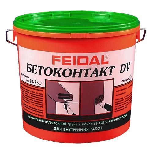 Купить Грунтовка адгезионная Feidal Бетоконтакт DV, 20 кг — Фото №1
