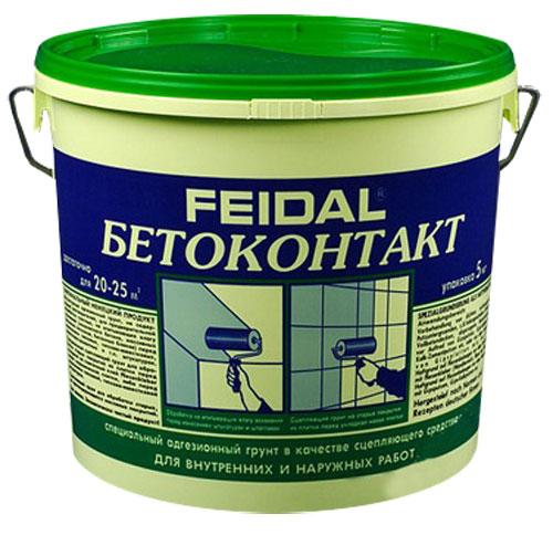 Купить Грунтовка адгезионная Feidal Бетоконтакт, 20 кг — Фото №1